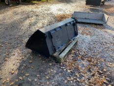 SKID STEER & BUCKET.5FT