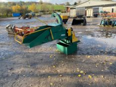 TOWNSUNNY WOOD CHIPPER WITH PTO