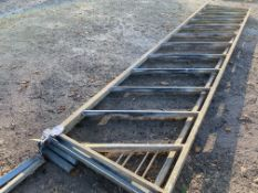 2X 15 FOOT CATTLE BARRIERS
