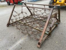 HYDRAULIC FOLDING CHAIN HARROW 15 FT