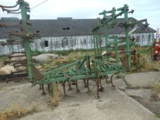 24' JD 1100 3pt. field cultivator, 3 bar leveler.