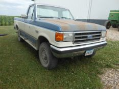 1989 Ford F250 4X4 XLT Lariat, 181,851 miles, rebuilt motor put in at 140,000