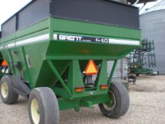 640 Brent w/22.5 tires, green