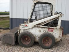 610 Bob Cat skid steer w/new bucket.