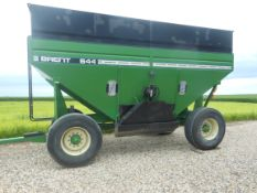 644 Brent w/22.5 tires, green.