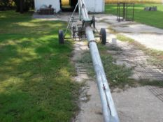 "6""X28' auger with gas motor."
