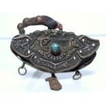 Leather women's purse called BAGHOU