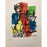 Fernand Léger - Les soldats<
