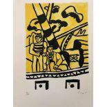 Fernand Léger - Le remorqueur jaune<