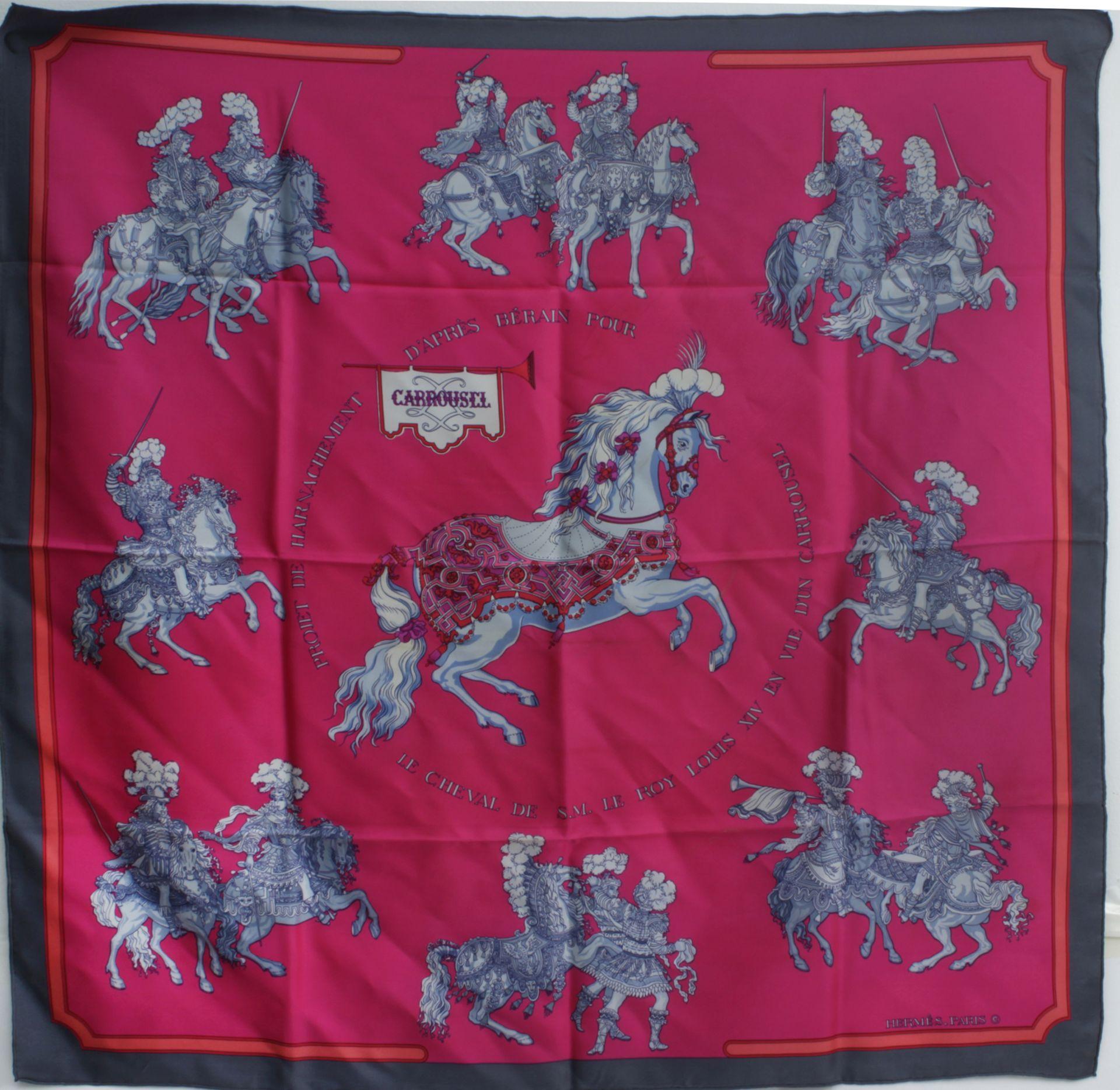 "Los 245 - Hermès ""Carrousel"" scarf"