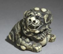 A Japanese netsuke circa 1800 from Edo period