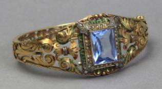 An Art Nouveau bracelet circa 1900