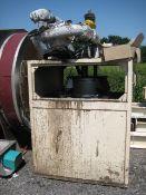 Trace Heated Fats Tank, located in a mild steel en