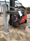 Electric Hoist Swivel Arm, dimensions approx. 2m h