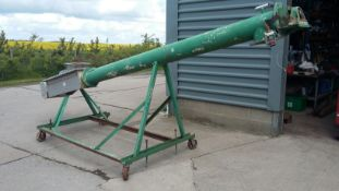 Stainless Steel Mobile 8in dia. Auger, with geared