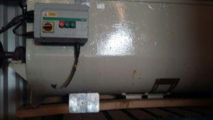500L Mild Steel Ribbon Blender, with steel legs ch