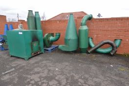 Anyang Geinco Drying System, with burner, feeder,