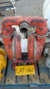 Wilden M8 Mild Steel 2in Double Diaphragm Pump, wi