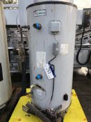 Two Lochinvar Gas Fired Water Heaters, dimensions