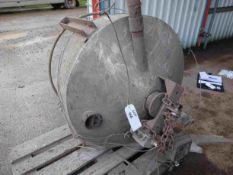 Stainless Steel Weighing Hopper, with load cell an
