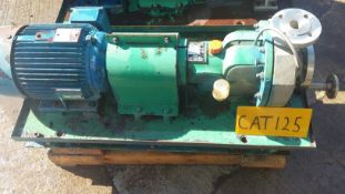 Durco Chemstar stainless steel centrifugal pump se