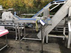 York Fabrications Conveyor, plant no. 14524, dimen
