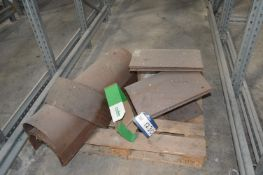 Screw Conveyor Casings, as set out on pallet (Note