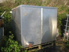 Insulated Stainless Steel Drying Cabinet, 1.5m x 1