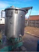 Kady 1000L Stainless Steel Wet Mill / Homogeniser,