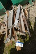 Fabricated Steelwork, on pallet (lot located in Al