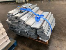 14 Bay Galvanised Steel Boltless Pallet Racking, w