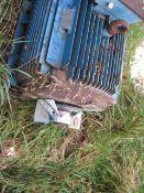 ABB 315kw 1485 rpm Electric Motor, built 2005, mod