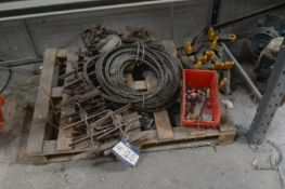 Assorted Equipment, on pallet (Note: This lot is s