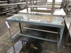 Work Bench, dimensions approx. 1.5m x 0.6m x 0.9m
