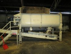 Schlotterhose Heavy Duty Twin Rotor Mixer, the mix