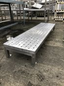 Stainless Steel Floor Stand, dimensions approx. 1.