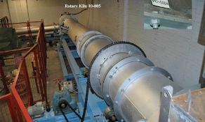 Gas Fired Rotary Kiln Pilot (installed in 2010), comprising Jones 12m Refractory-Lined Rotary