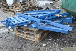 Fabricated Steel Framework, understood to form tot