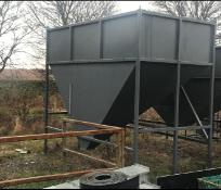 Bulk Storage Bin, 2700mm x 3225mm x 750mm deep