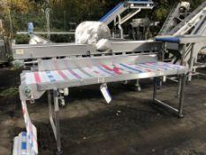 Introlux Belt Type Conveyor, plant no. 14503, dime
