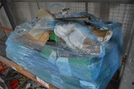 Spares on Four Pallets, including Buhler (Note: Th