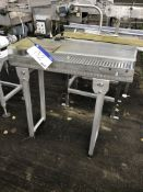 Roller Conveyor, with cover, dimensions approx. 1m