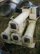 200mm dia. x 0.76m long Round Cased Screw Feeder,