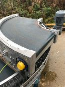 Transnorm TS 1600-105 90 degrees Belt Conveyor, al