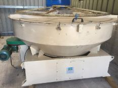 PTN SR200E Super Rotor Sifter, sifting chamber, wi