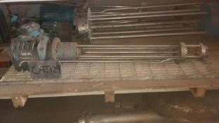Greaves Homogeniser, with 900mm long shaft, 75mm d