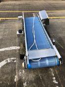 Turatti De-Watering Conveyor, dimensions approx. 0