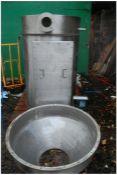 Stainless Steel Receiving Dust Filter Unit Pod, bo