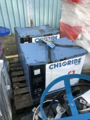 Two Chloride Chargers loading charge - £20, item l