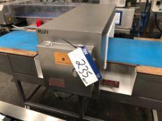 Tektamet Metal Detector, plant no. 15077, dimensio